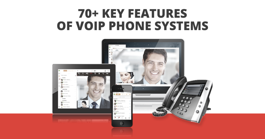 70+ Key Features of VoIP Phone Systems